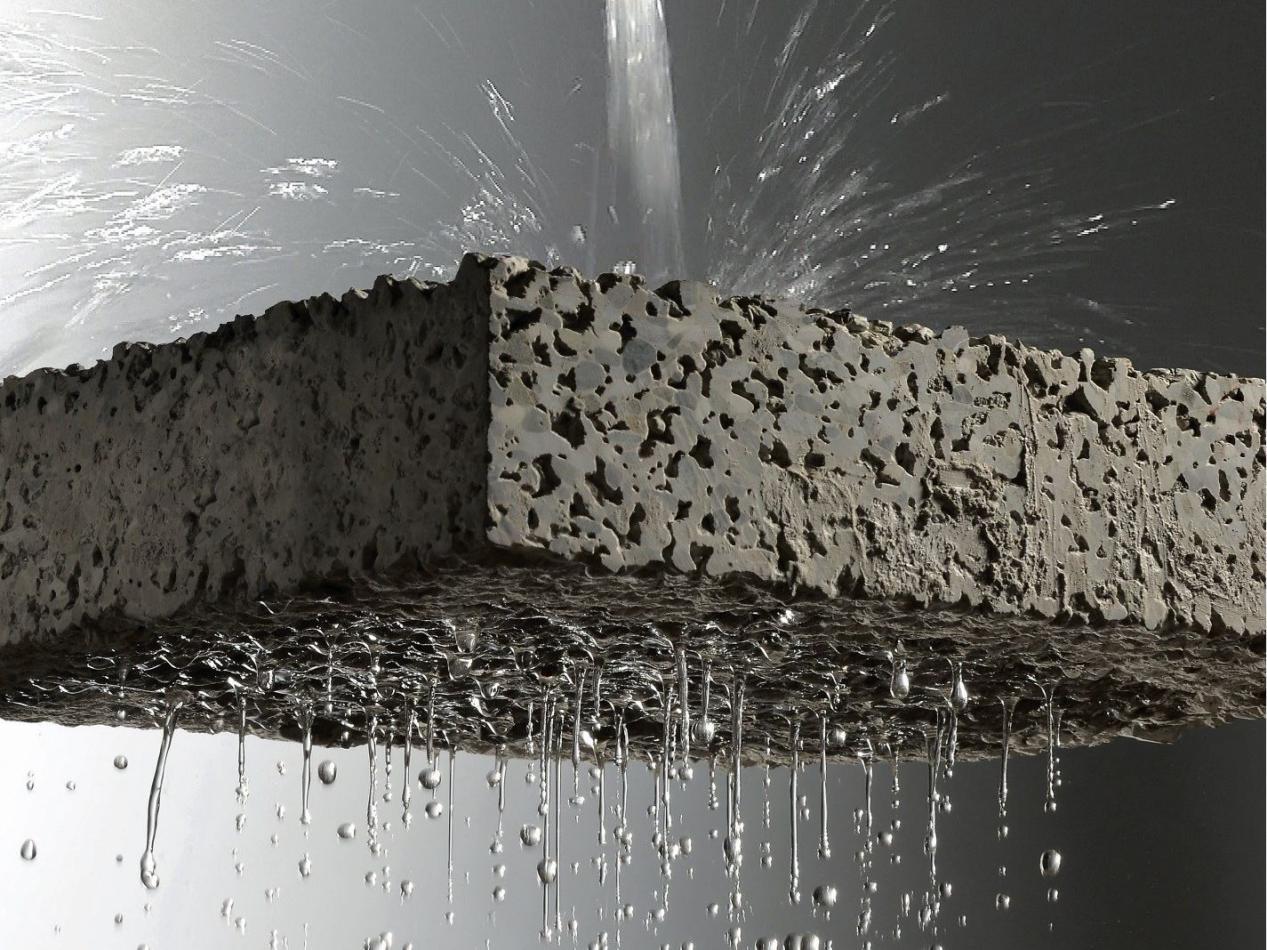 concreto permeável