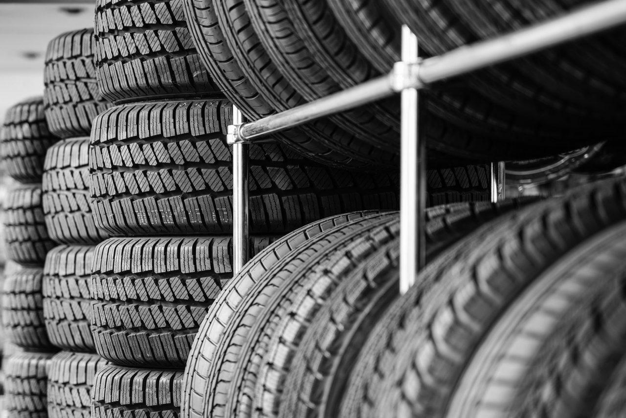 ciclo da borracha do pneu